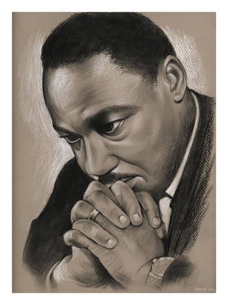 Wall Art - Drawing - MLK by Greg Joens