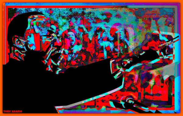 Mlk Digital Art - MLK by Tony Adamo