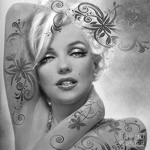 Painting - Mm 127 Deco Bw by Theo Danella