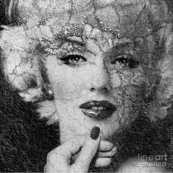 Painting - Mm 132 A Bw by Theo Danella