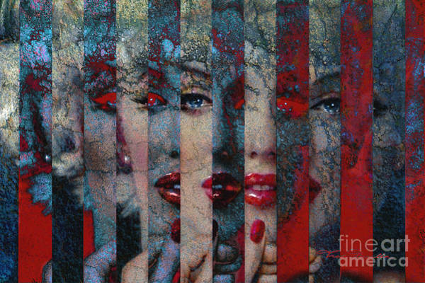 Painting - Mmarilyn 132 Sis by Theo Danella