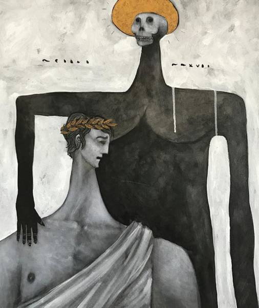 Surrealist Painting - Mmxvii Life And Immortality No 6  by Mark M Mellon