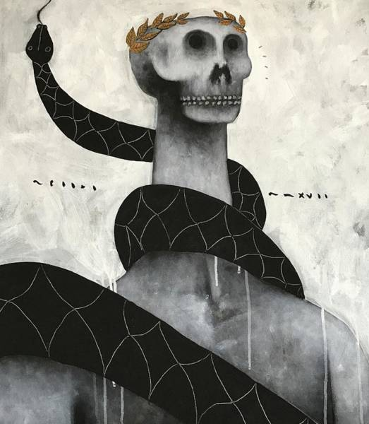 Surrealist Painting - Mmxvii Life And Immortality No 9  by Mark M Mellon