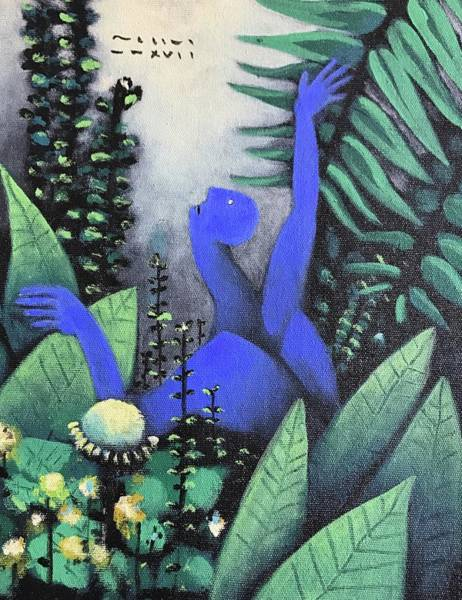 Surrealist Painting - Mmxvii Paradise No 3  by Mark M Mellon