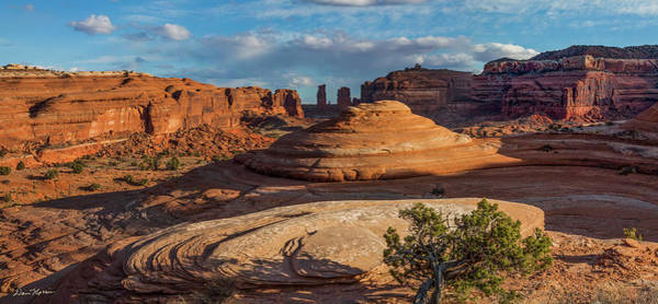 Photograph - Moab Back Country Panorama by Dan Norris