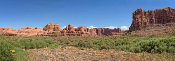 Photograph - Moab Panorama by Jim Thompson
