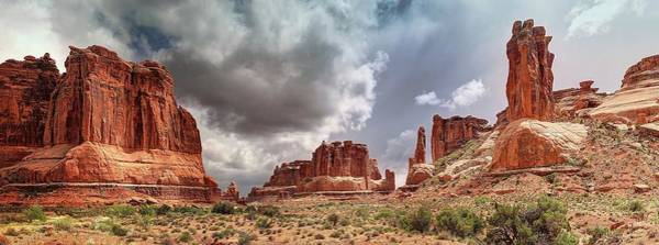 Photograph - Moab - Red Rock Country by OLena Art Brand