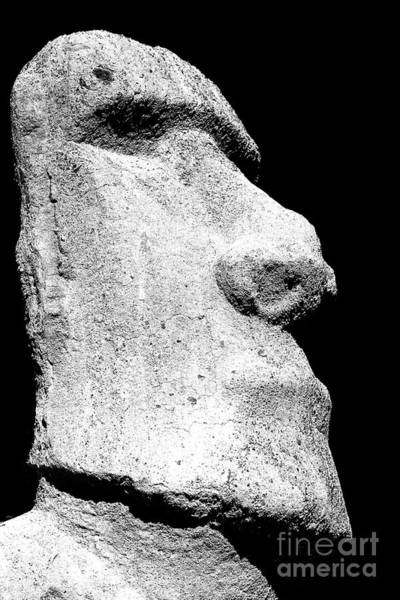 Photograph - Moai At Carrasco Palace In Vina Del Mar by John Rizzuto