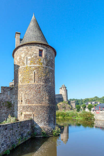 Wall Art - Photograph - Moat And Towers by W Chris Fooshee
