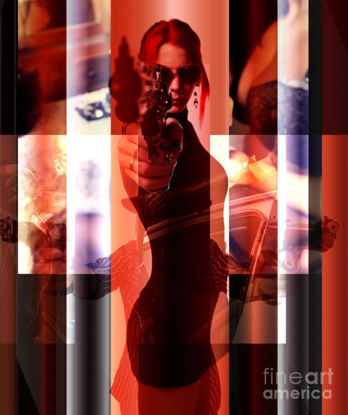 Wall Art - Digital Art - Mob Wife by John Rizzuto