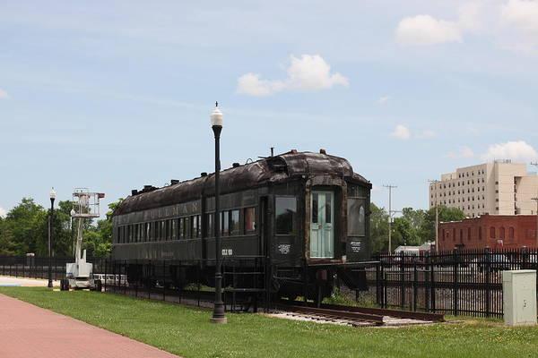 Moberly Photograph - Moberly Train by Kathy Cornett