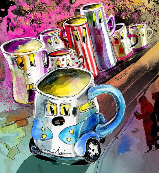 Painting - Mobile Mug by Miki De Goodaboom