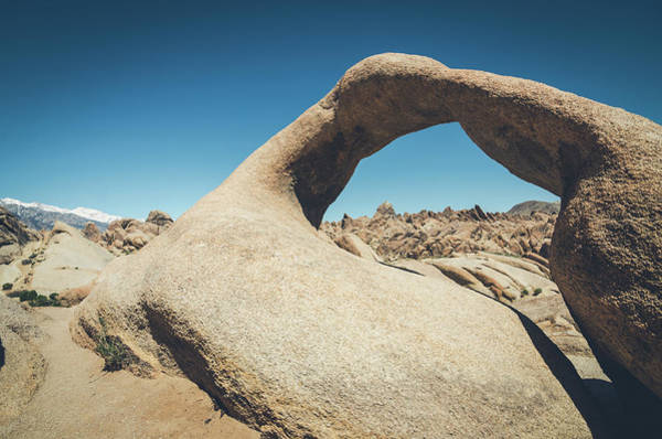 Photograph - Mobius Arch No.1 by Margaret Pitcher