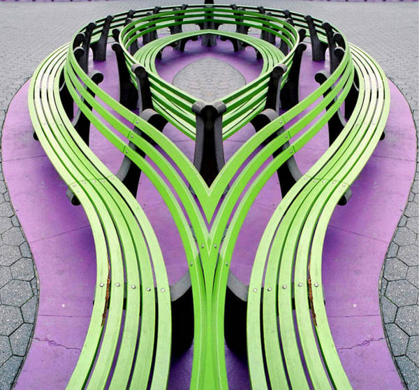Photograph - Mobius Bench by Jim DeLillo