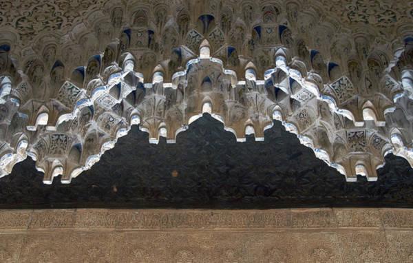 Photograph - Mocarabe, Alhambra by David Kleinsasser