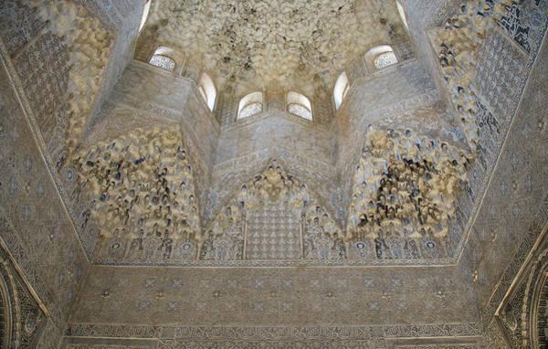 Photograph - Mocarabe Ceiling, Alhambra by David Kleinsasser