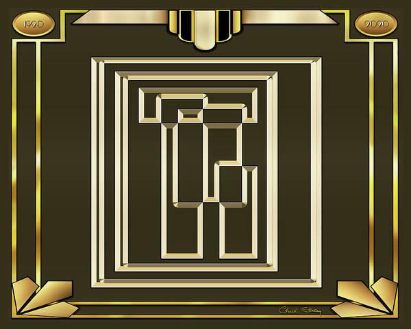 Digital Art - Mocha 4 - Frame 1 by Chuck Staley
