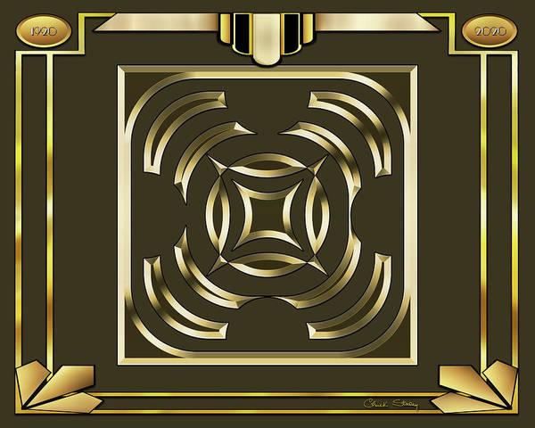 Digital Art - Mocha 5 - Frame 1 by Chuck Staley