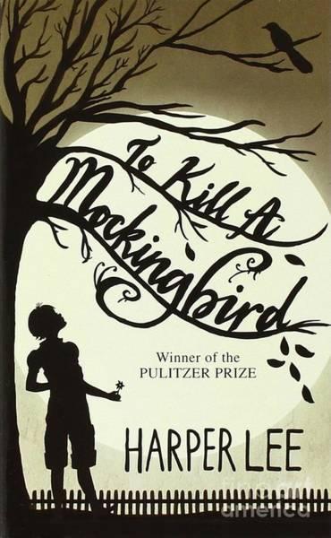 Harper Lee Wall Art - Photograph - Mockingbird Book Cover Poster by John Malone