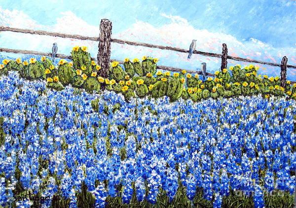 Painting - Mockingbird Heaven by Santiago Chavez