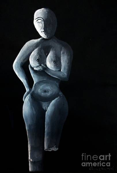 Painting - Model-3 by Tamal Sen Sharma