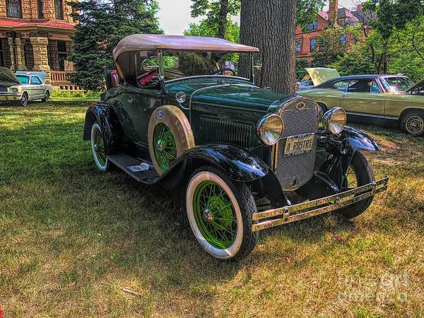 Photograph - 1928 Model A Ford  by Luther Fine Art