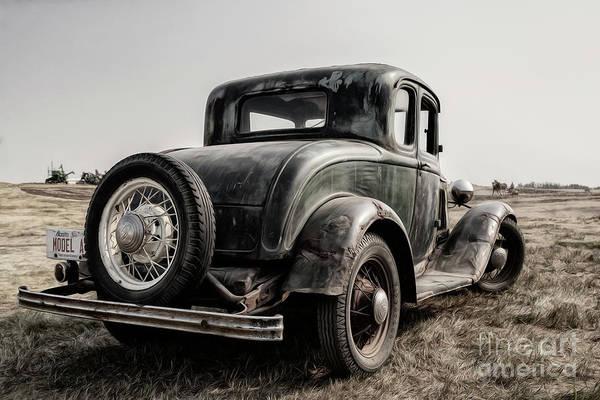 Photograph - Model A by Brad Allen Fine Art