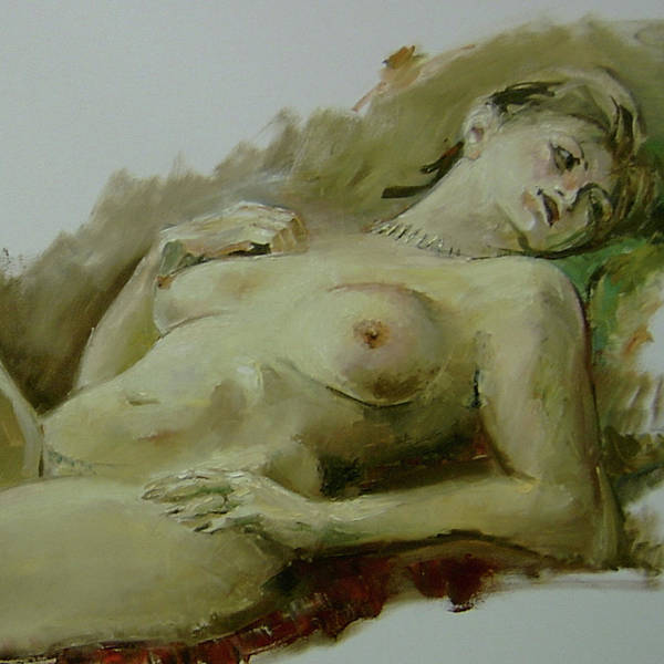 Painting - Model Study by Tigran Ghulyan