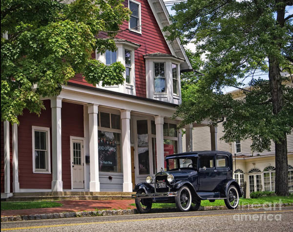 Photograph - Model T On Main Street by Mark Miller