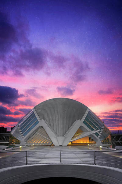 Arte Photograph - Modern Architecture Of Valencia Spain  by Carol Japp