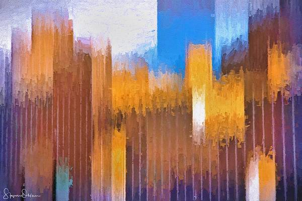 Wall Art - Digital Art - Modern Architecture - Signed Limited Edition by Steve Ohlsen