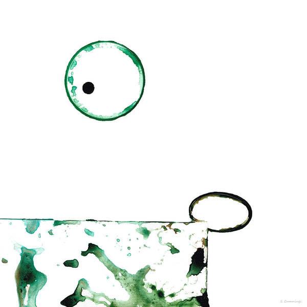 Painting - Modern Art - Balancing Act 1 - Sharon Cummings by Sharon Cummings