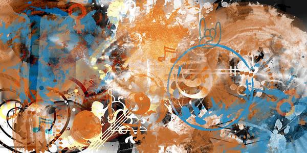 Compose Wall Art - Painting - Modern Art Beyond Control by Melanie Viola