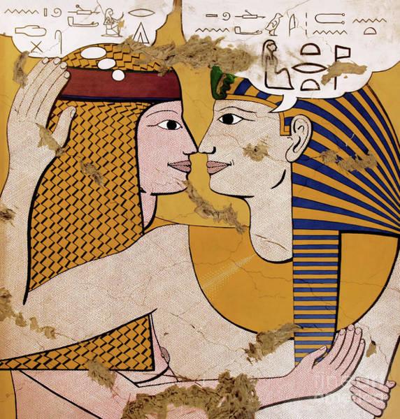 Philae Painting - Modern Art Lovers by Richard Deurer