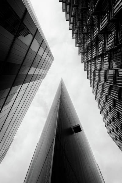 Photograph - Modern Buildings Business Finance Abstract by John Williams