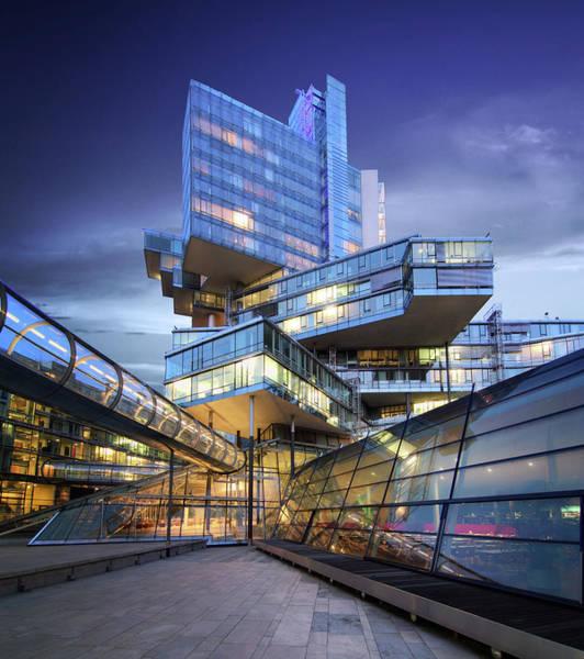 Wall Art - Photograph - Modern City Lights by Marc Huebner