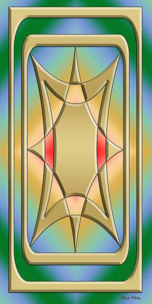Digital Art - Modern Designs Vertical 4 by Chuck Staley