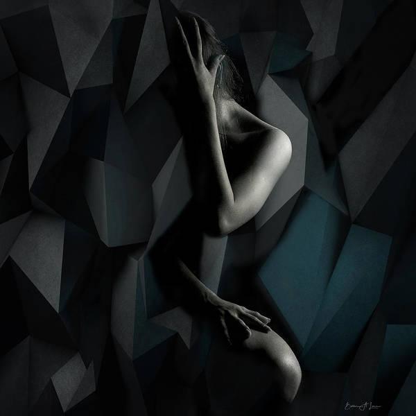 Digital Art - Modern Despair by Barbara A Lane