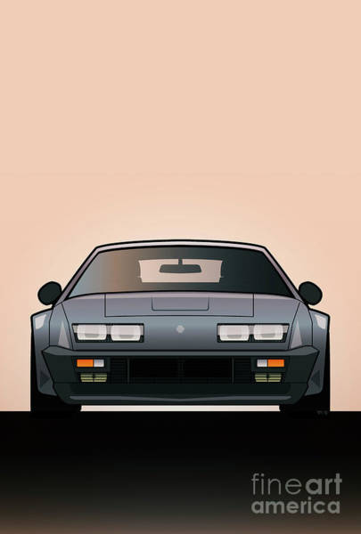 Wall Art - Digital Art - Modern Euro Icons Series Alpine A310 Gt by Monkey Crisis On Mars