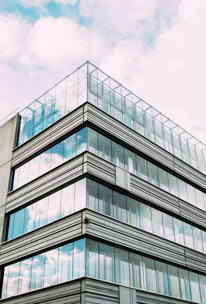 Wall Art - Photograph - Modern Glass Building Facade by Pati Photography