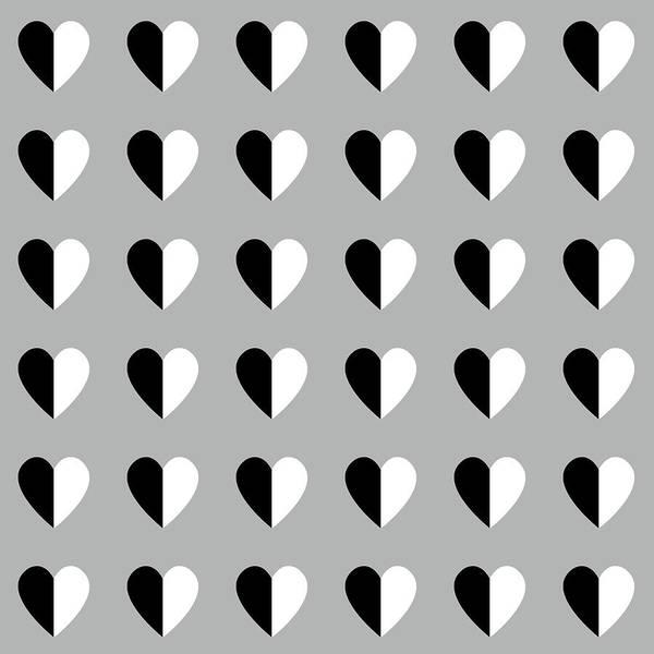 Heart Wall Art - Mixed Media - Modern Hearts- Art By Linda Woods by Linda Woods