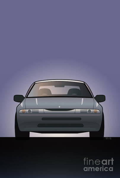 Made In Digital Art - Modern Japanese Icons Subaru Alcyone Svx by Monkey Crisis On Mars