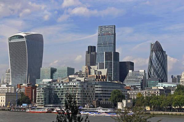 Photograph - Modern London by Tony Murtagh