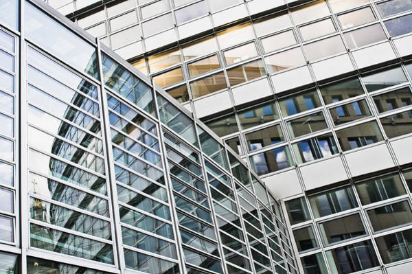 Multi-storey Wall Art - Photograph - Modern Office Building by Tom Gowanlock