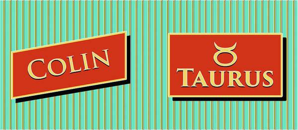 Collin Photograph - Modern Retro_colin_taurus by David Smith