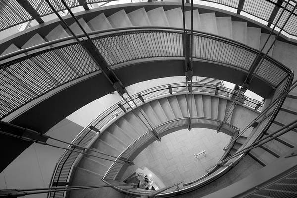 Photograph - Modern Stair by Polly Castor