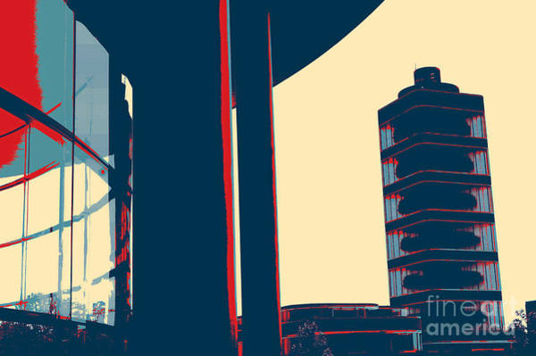 Painting - Modern Tower by Celestial Images