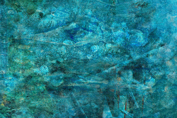 Painting - Modern Turquoise Art - Deep Mystery - Sharon Cummings by Sharon Cummings