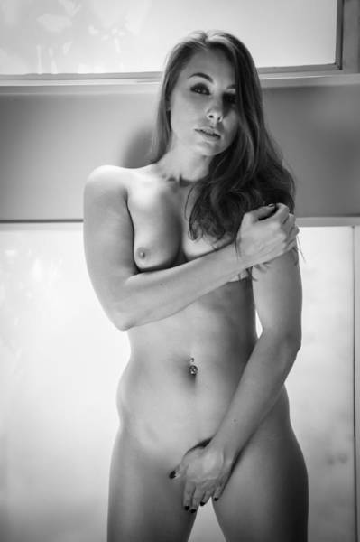 Photograph - Modest Nude by Harry Spitz