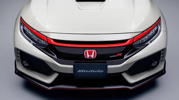 Wall Art - Digital Art - Modulo Honda Civic Type R 2017 by Mery Moon